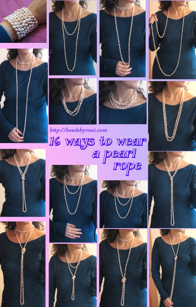 Pearl Necklace: How to Wear